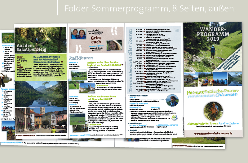 HeimatEntdeckerTouren, Layout evolvere